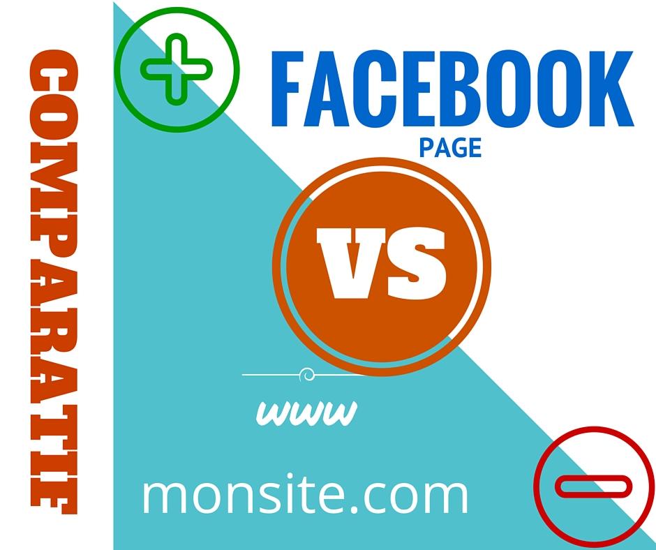 Site web ou page Facebook
